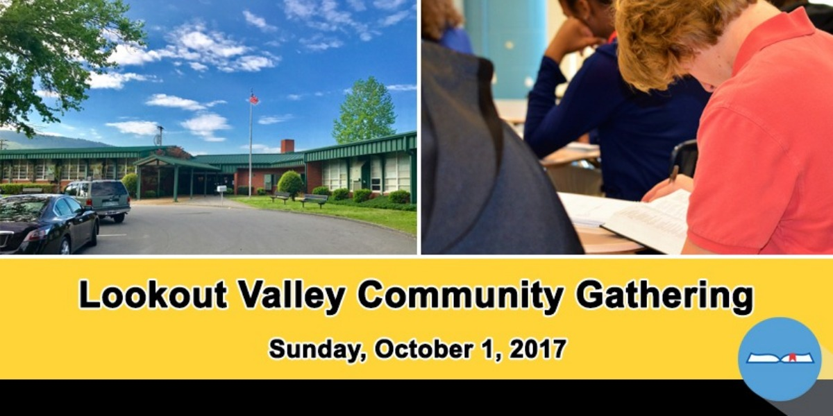 Register now for the Lookout Valley Community Gathering